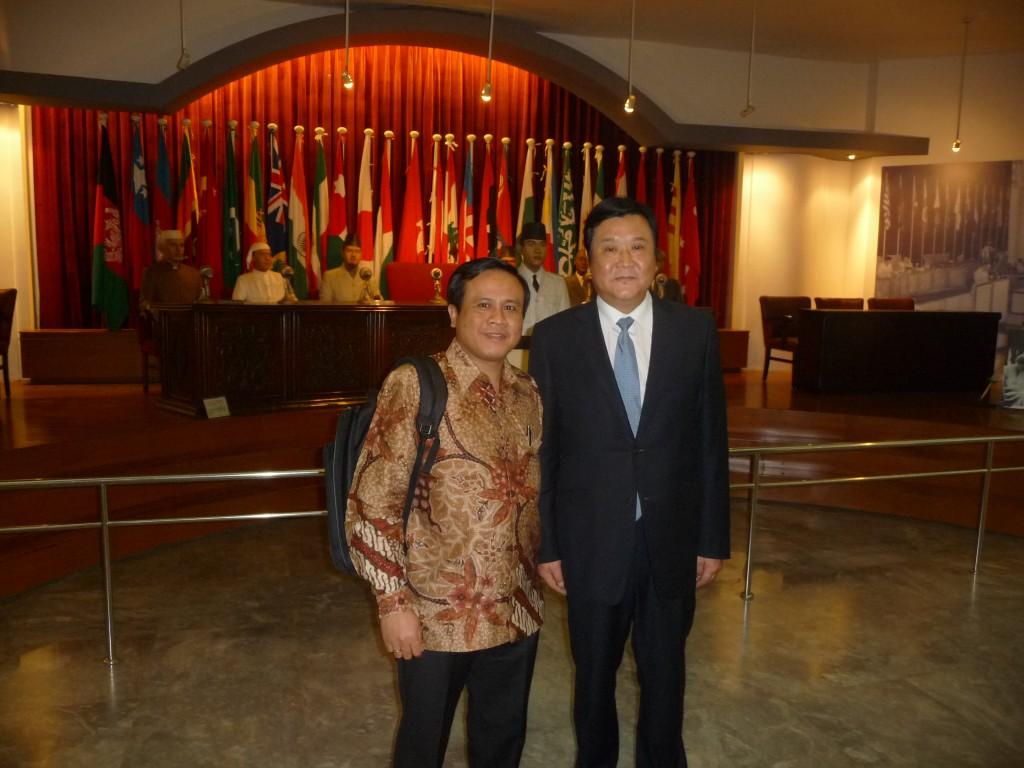 Bersama Wakil Gubernur Provinsi Henan
