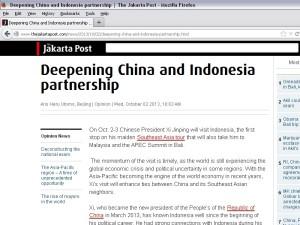 Tulisan di the Jakarta Post