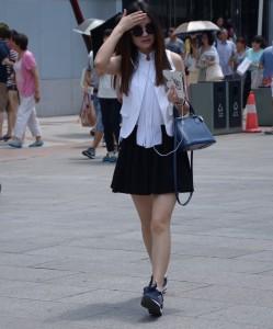 China girl summer 2