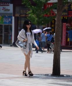 China girl summer