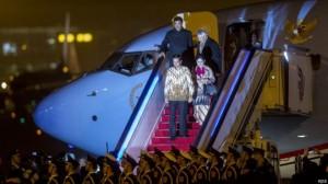 Jokowi tiba di Beijing
