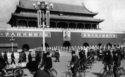 Beijing Tiananmen old